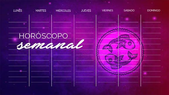 Horóscopo Piscis semanal- piscishoroscopo.com